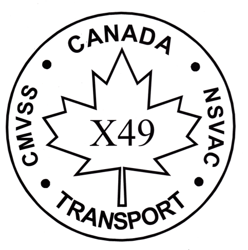 Canada Tansport Safety Mark X49